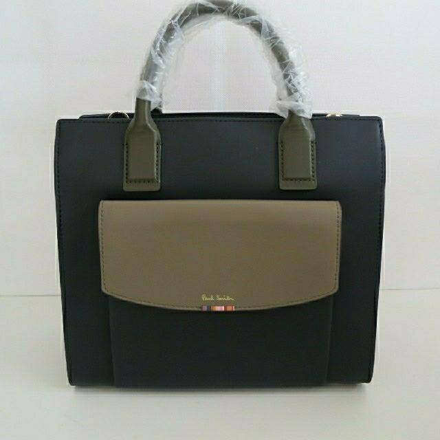 Paul Smith(ポールスミス)のメグ様専用ポールスミス新品未使用女性用ハンドバッグ レディースのバッグ(ハンドバッグ)の商品写真