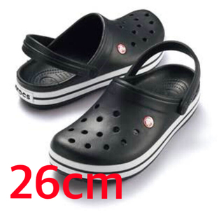 crocs - crocs クロックス クロックバンド 26cm. 黒 新品