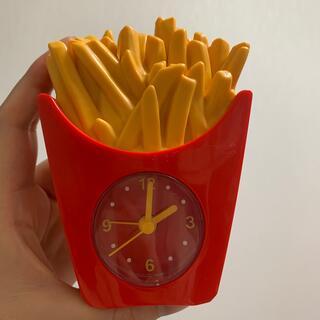 マクドナルド(マクドナルド)の目覚まし時計(置時計)