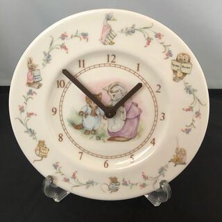 ロイヤルアルバート(ROYAL ALBERT)のロイヤルアルバート ピーターラビットプレート時計(置物)