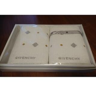 ジバンシィ(GIVENCHY)のGIVENCHY タオルハンカチ 2枚セット(タオル/バス用品)
