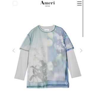 アメリヴィンテージ(Ameri VINTAGE)の【Ameri VINTAGE】SAYO NAGASE COLLAB LS TEE(Tシャツ(長袖/七分))