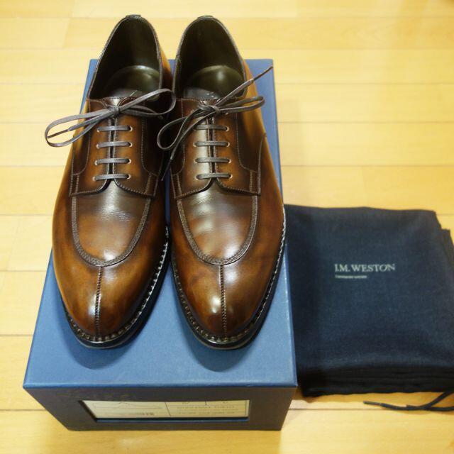 J.M. WESTON(ジェーエムウエストン)の完売 JMウエストン 598 Yohei Fukuda別注 6.5C メンズの靴/シューズ(ドレス/ビジネス)の商品写真