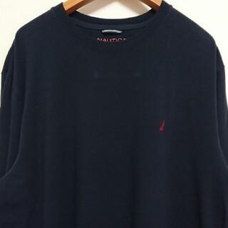 ノーティカ(NAUTICA)の☆US古着NAUTICA/ネイビー/ロングスリーブTシャツ/XXL(Tシャツ/カットソー(七分/長袖))