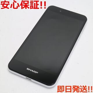 アクオス(AQUOS)の新品同様 SIMフリー AQUOS SH-M04 ホワイト (スマートフォン本体)