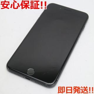 アイフォーン(iPhone)の美品 SIMフリー iPhone8 PLUS 256GB スペースグレイ(スマートフォン本体)