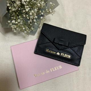 Maison de FLEUR - ♡♡ メゾンドフルール リボン カードケース ブラック