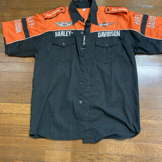 ハーレーダビッドソン(Harley Davidson)の半袖 シャツ ハーレー メンズ(シャツ)