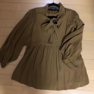 ザラ(ZARA)のZARA 春物衣類 トップス(カットソー(長袖/七分))