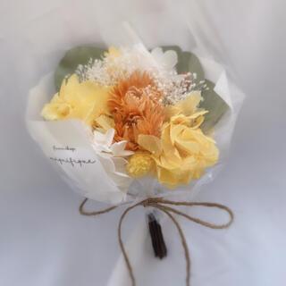 ビタミンカラー ドライフラワー 花束 ブーケ スワッグ ギフト(ドライフラワー)