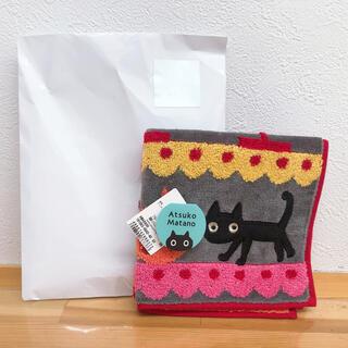 イセタン(伊勢丹)のATSUKO MATANO 猫ハンカチ(ハンカチ)