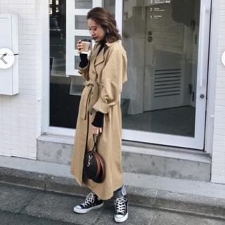 スライ(SLY)の新木優子さん着用 SLY トレンチコート MOUSSY ユナイテッドアローズ(トレンチコート)