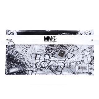 エムエムシックス(MM6)の【SPUR 付録】MM6 Maison Margiela スクリブルクリアポーチ(ポーチ)