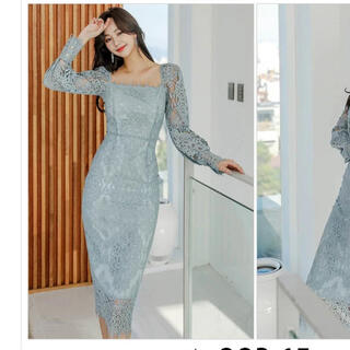 韓国ドレス ワンピース(ひざ丈ワンピース)