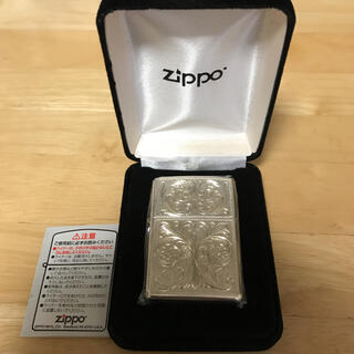 ジッポー(ZIPPO)のシルバーキング USV7(No.15)ハイポリッシュ・ミラー(タバコグッズ)
