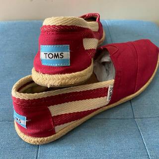 TOMS - TOMS トムスフラットシューズ  TOMSスリッポン トムズスリッポン
