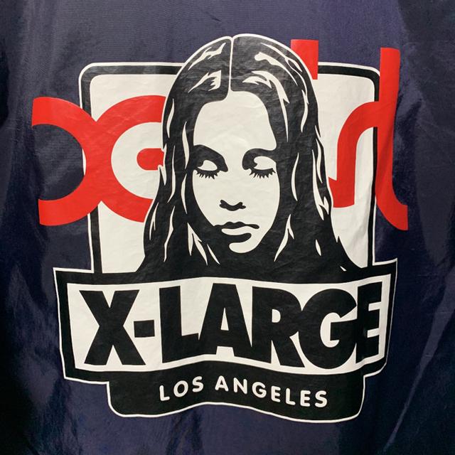 XLARGE(エクストララージ)の[古着]X-LARGE コーチジャケット X-girl 限定コラボ 超レア M メンズのジャケット/アウター(ナイロンジャケット)の商品写真