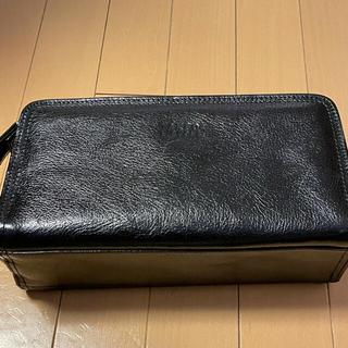タケオキクチ(TAKEO KIKUCHI)のセカンドバック Kikuchi Takeo 黒革(セカンドバッグ/クラッチバッグ)