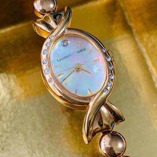 ツモリチサト(TSUMORI CHISATO)の稼動品 ツモリチサト 腕時計 キャンディー VC11-D075(腕時計)