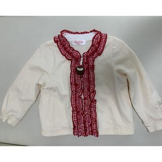 シャーリーテンプル(Shirley Temple)のギンガムフリルカップケーキジャケット 100(ジャケット/上着)