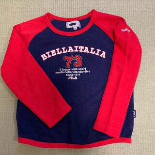 フィラ(FILA)のFIRA トレーナー 120cm  130cm   紺と赤(Tシャツ/カットソー)