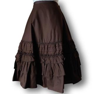イノセントワールド(Innocent World)のイノワ*裾取り外しフレアースカート(ひざ丈スカート)
