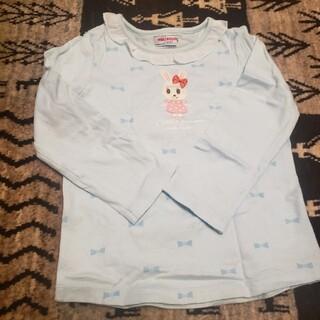 ミキハウス(mikihouse)のミキハウス 100 水色ロンT(Tシャツ/カットソー)