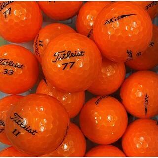 タイトリスト(Titleist)のロストボール タイトリスト VG3 年代混合 オレンジパール 20球 AB(その他)