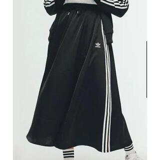 アディダス(adidas)の★アディダス スカート 黒  9900円  XL(ロングスカート)