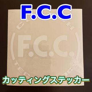ホンダ - F.C.C.  カッティングステッカー 白