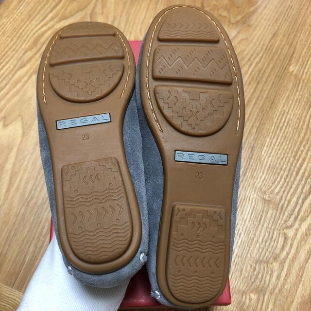 REGAL(リーガル)のREGAL モカシン スリッポン グレースエード レディースの靴/シューズ(スリッポン/モカシン)の商品写真