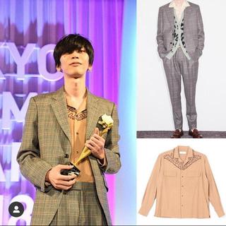 トーガ(TOGA)の米津玄師着用 togavirilis 18aw wool jacket pant(スラックス)