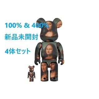 メディコムトイ(MEDICOM TOY)の4体セット BE@RBRICK Mona Lisa 400% モナリザ(その他)
