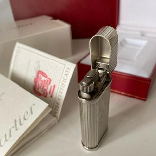 カルティエ(Cartier)のカルティエ ライター コンプリートサービス済(タバコグッズ)
