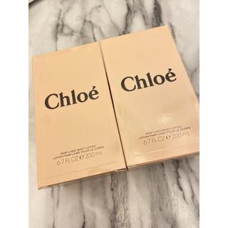 クロエ(Chloe)のクロエ Chloe ボディローション 200ml 2個(ボディローション/ミルク)