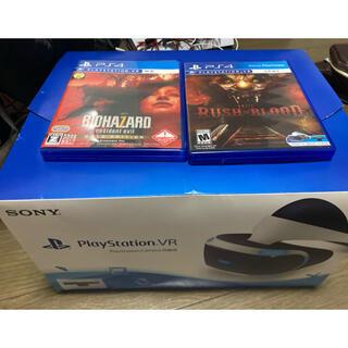 プレイステーションヴィーアール(PlayStation VR)のPSVR ソフトセットカメラ付き(家庭用ゲーム機本体)