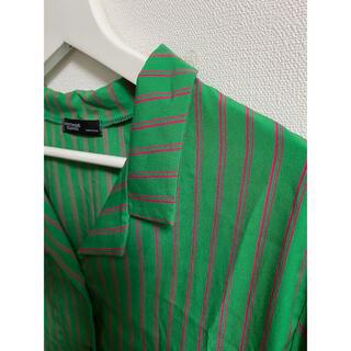スタイルナンダ(STYLENANDA)のyonchimi様 STYLENANDA 開襟シャツ(シャツ/ブラウス(半袖/袖なし))