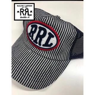 ダブルアールエル(RRL)のRRL ダブルアールエル ラルフローレン  キャップ cap ストライプ (キャップ)