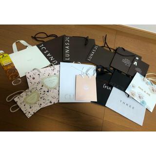 ルナソル(LUNASOL)のショッパー 化粧品 コスメ 紙袋 ショップバッグ(ショップ袋)