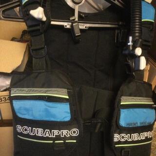 スキューバプロ(SCUBAPRO)のScubapro Bcd フロント アジャスト サイズ S オーバーホール済(マリン/スイミング)