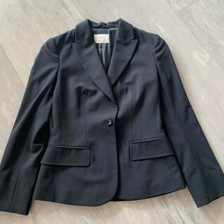 アニオナ(Agnona)のAGNONA アニオナ ジャケット 黒(テーラードジャケット)