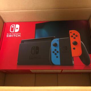 ニンテンドースイッチ(Nintendo Switch)のスイッチ Switch 新品 新型 新モデル 未使用 Nintendo (家庭用ゲーム機本体)
