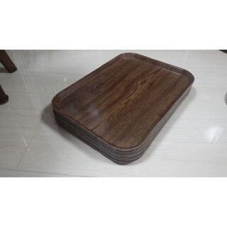 10枚セット cambro社製 木目調 トレイ USA製 トレー ビンテージ(その他)