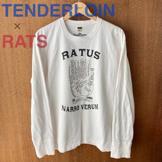 ラッツ(RATS)のRATS × TENDERLOIN ロングスリーブ Tシャツ(Tシャツ/カットソー(七分/長袖))