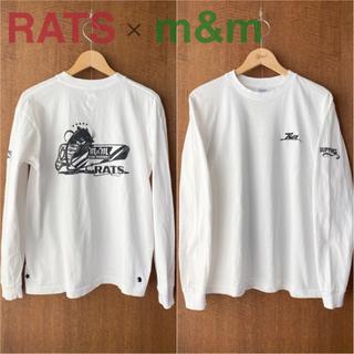 ラッツ(RATS)のRATS × m&m ロングスリーブ Tシャツ Nuts Art Works(Tシャツ/カットソー(七分/長袖))