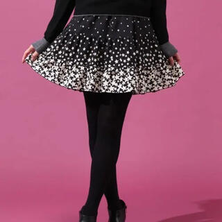 ドーリーガールバイアナスイ(DOLLY GIRL BY ANNA SUI)の[訳あり] ドーリーガールバイアナスイ スターグラデーションスカート(ミニスカート)