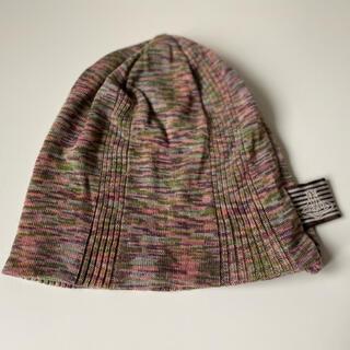 ヴィヴィアンウエストウッド(Vivienne Westwood)のヴィヴィアンウエストウッド ニット帽 ニットキャップ ミックスカラー 未使用(ニット帽/ビーニー)