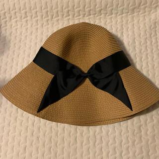 アーバンリサーチ(URBAN RESEARCH)のjujube  アーバンリサーチ 麦わら帽子 リボン(麦わら帽子/ストローハット)
