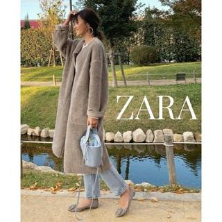 ZARA - ZARA リバーシブルボアコート