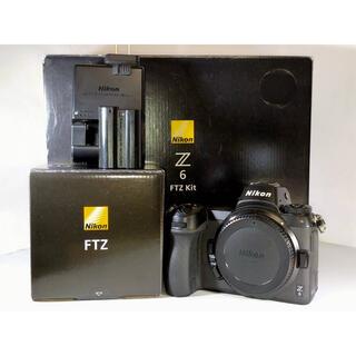 Nikon - Nikon z6 + 新品ftzマウントアダプター ボディ 本体